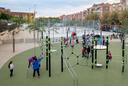 Inauguració de la zona esportiva i de jocs infantils de Figuera Major