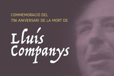 Commemoració del 79è aniversari de la mort de Lluís ...