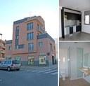 L'alcalde visita els habitatges amb protecció oficial del carrer d'Almeria, 77
