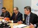 El conseller d'Interior destaca que l'activitat delictiva a Mataró disminueix més que a la resta de Catalunya