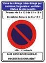L'Ajuntament clarificarà la senyalització de les zones de càrrega i descàrrega per a vehicles comercials