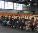 L'alcalde demana ajuda als líders d'UGT Cándido Méndez i Josep M. Àlvarez per defensar els afectats per les preferents