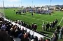 La remodelació del Camp Municipal de Futbol de Vista Alegre-Els Molins s'inaugura amb diferents actes