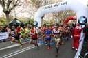 """Mourad El Bannouri i Meritxell Soler, guanyadors de la 19a Mitja Marató """"Ciutat de Mataró"""""""