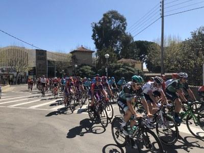 La sortida de la Volta Ciclista a Catalunya