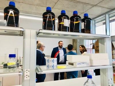 El laboratori està situat al TecnoCampus