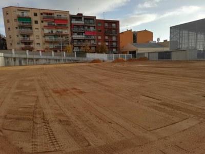 Camp de Futbol Enric Pujol. Foto: Ajuntament