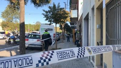 Desallotjament al carrer de Galícia. Foto: Ajuntament de Mataró