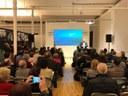 La presentació en Audiència Pública del Pla d'acció  i el Pressupost 2020 aplega 130 persones a Can Marfà