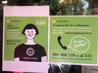 Les atencions del Servei d'Informació i Atenció a les Dones i al col·lectiu LGTBI de Mataró baixen lleugerament durant la crisi del coronavirus