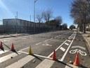 Nou carril bici al carrer de Joaquim Puig i Pidemunt