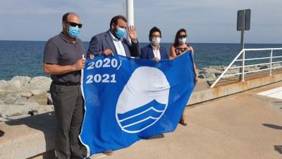 El Port de Mataró ha renovat la bandera blava. Foto: TecnoCampus