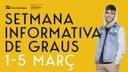 El TecnoCampus organitza de l'1 al 5 de març la Setmana Informativa de Graus