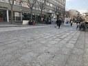 L'Ajuntament comença dilluns 15 les obres per substituir el paviment de la plaça de Santa Anna i La Rambla en el marc del Pla d'Impuls al Centre