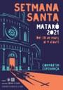 La Comissió de la Setmana Santa de Mataró presenta el cartell d'enguany
