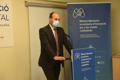 Josep Lluís Checa del TecnoCampus Mataró-Maresme