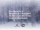 Mataró commemora el Dia de la Memòria de l'Holocaust i la Prevenció dels Crims contra la Humanitat