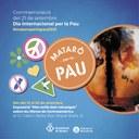 Mataró commemora el Dia Internacional per la Pau amb tres activitats per a tota la ciutadania
