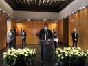 Mataró fa un acte institucional de recordatori d'un any de pandèmia de la Covid-19