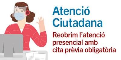 Imatge Atenció Ciutadana - Cita Prèvia