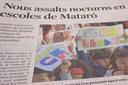 Onada de robatoris als centres educatius de Mataró