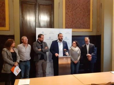 Es presenten les Declaracions Institucionals aprovades per la Junta de Portaveus
