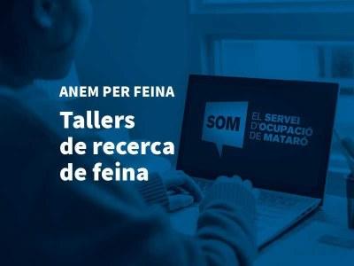 El SOM programa més d'una vintena de tallers virtuals 'Anem per Feina' per a novembre i desembre