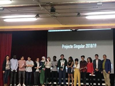 La 12a edició dels Projectes Singulars facilita estades formatives a 79 empreses de la ciutat a 54 alumnes