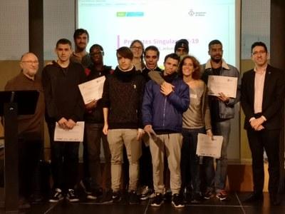 Una seixantena de joves participen en un programa per tornar a estudiar o incorporar-se al món laboral