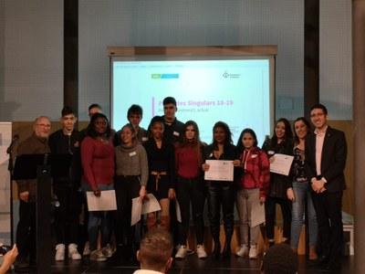 Joves participants a Projectes Singulars. Foto: Ajuntament