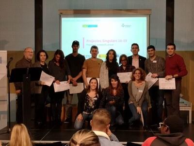 Empreses participants a Projectes Singulars. Foto: Ajuntament