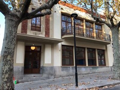 Façana del Cafè Nou. Novembre de 2020.Foto: Ajuntament de Mataró.jpg