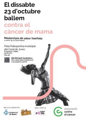 Masterclass de bachata i salsa contra el càncer de mam...