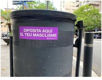 """Campanya de sensibilització: """"Diposita aquí el teu ma..."""