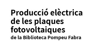 Producció elèctrica de plaques fotovoltàiques