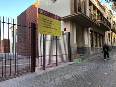 Façana del Cafè Nou. Novembre del 2020. Foto: Ajuntament de Mataró.jpg